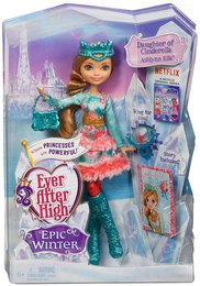 Mattel Ever After High DKR64 - Ewiger Winter Ashlynn