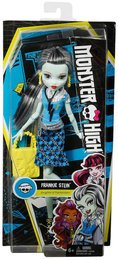 Mattel Monster High DNW99 - Todschicke Monsterschülerin Frankie