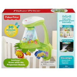 Fisher Price 2-in-1 Rainforest Musikmobile mit Projektion - DFP09