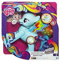 Hasbro A5905 - My Little Pony Super-Salto Rainbow Dash