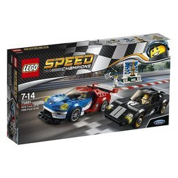 LEGO® Speed Champions 75881 - 2016 Ford GT und 1966 Ford GT40