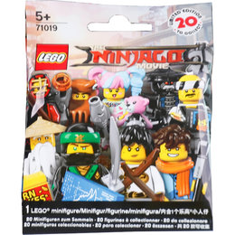 The Lego NINJAGO Movie 71019 Minifigures