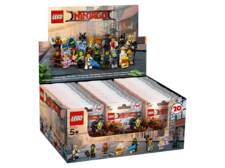 The Lego NINJAGO Movie 71019 Minifigures (1 Display (60 Tüten))