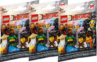 The Lego NINJAGO Movie 71019 Minifigures 3er Set