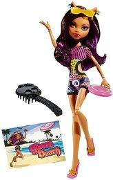 Monster High Gloom Beach Clawdeen Wolf
