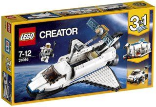 LEGO® Creator 31066 - Forschungs-Spaceshuttle