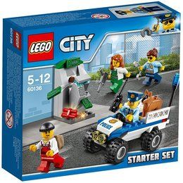 LEGO® City 60136 - Polizei-Starter-Set