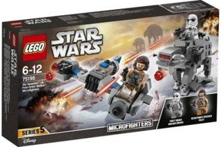 LEGO® Star Wars 75195 Ski Speeder# vs. First Order Walker# Microfighters