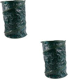2 x Pop Up Gartensack 120 Liter Laubsack 45 x 75 cm