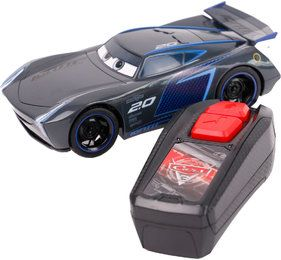 Disney Spielzeugauto Cars RC Jackson Storm Single Drive