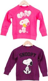 Snoopy PEANUTS Cartoon Happy Cute Kinder Sweat-Shirt in Verschieden Größen/Mustern