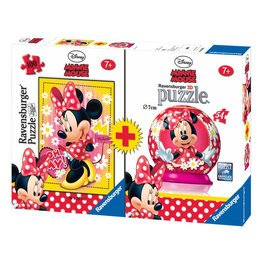 Minnie Mouse - Pack 2 Rätsel (10834 3 Ravensburger)