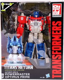Details zu  Hasbro B7997-Transformers- Titans Return, Leader Powermaster Optimus Prime