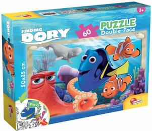 Finding Dory, Double Face Plus 60 (Kinderpuzzle)
