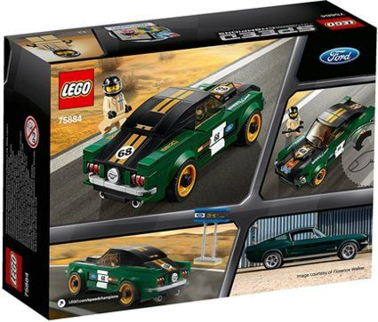 LEGO® 75884 Speed Champions 1968 Ford Mustang Fastback