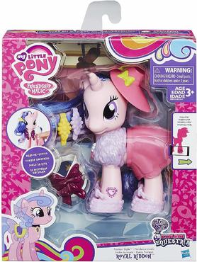 My Little Pony Explore Equestria 6-inch Fashion Style Set Royal Ribbon
