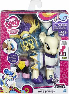 My Little Pony Explore Equestria 6-inch Fashion Style Set Sapphire Shores by My Little Pony