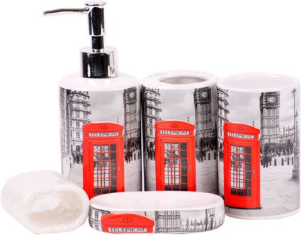 Badezimmer-Set 17-teilig WC Garnitur London online kaufen ...