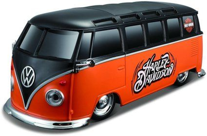 maisto tech r c custom harley davidson vw bus samba. Black Bedroom Furniture Sets. Home Design Ideas