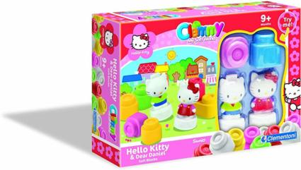Clementoni 91975 - Hello Kitty - Clemmy - Softbausteineset