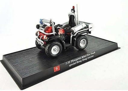 Firexpress Mini Fire Truck Feuerwehr spezial  China Hong Kong 1:32 Del Prado collection