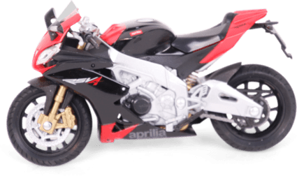 WELLY 1:18 Aprilia RSV 4 Factory rot