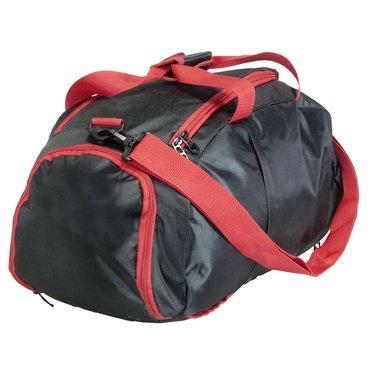 rucksack tasche denver in schwarz mit rot f r sport und freizeit online kaufen stylekiste. Black Bedroom Furniture Sets. Home Design Ideas