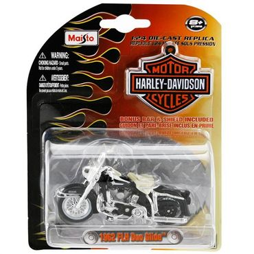 harley davidson 1962 duo glide maisto 1 24 online kaufen. Black Bedroom Furniture Sets. Home Design Ideas