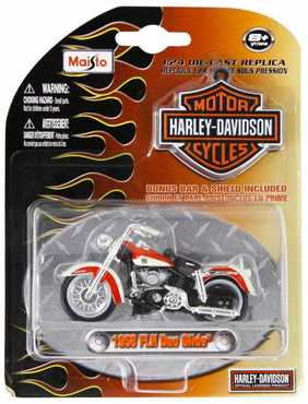 harley davidson 1958 flh duo glide maisto 1 24 online kaufen. Black Bedroom Furniture Sets. Home Design Ideas