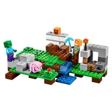 lego minecraft der eisengolem lego minecraft 21123 online kaufen. Black Bedroom Furniture Sets. Home Design Ideas