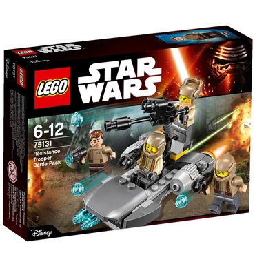 Lego Star Wars Resistance Trooper Battle Pack Lego Star Wars
