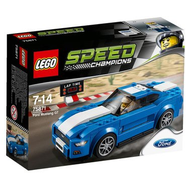 Lego Speed Champions Ford Mustang Gt Lego 75871 Online Kaufen