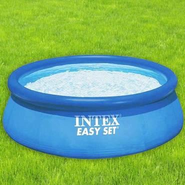 intex easy set pool 366 cm x 76 cm 28130 quick up pool online kaufen. Black Bedroom Furniture Sets. Home Design Ideas