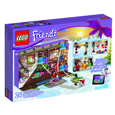 lego friends adventskalender 2016 mit 24 geschenken. Black Bedroom Furniture Sets. Home Design Ideas