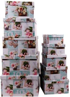 aufbewahrungsboxen mit deckel design 39 tuplen 39 10er set. Black Bedroom Furniture Sets. Home Design Ideas