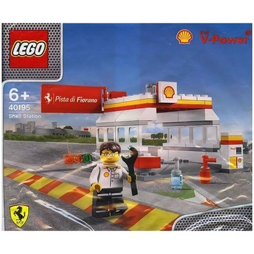 LEGO® 40195 - LEGO® Shell V-Power Collection Shell Station