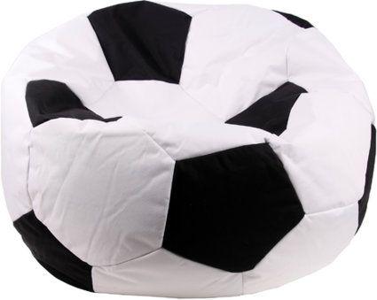 fu ball sitzsack xxl sitzkissen fanartikel ball 80 x 80 x 80cm hochwertig online kaufen. Black Bedroom Furniture Sets. Home Design Ideas