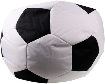 fu ball sitzsack xxl sitzkissen fanartikel ball 80 x 80. Black Bedroom Furniture Sets. Home Design Ideas