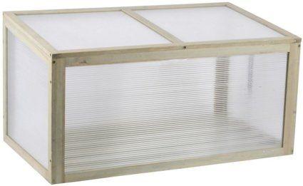 mini gew chshaus aus holz blumenkasten pflanzen anzucht. Black Bedroom Furniture Sets. Home Design Ideas