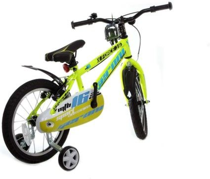 16 zoll jungen fahrrad kinderfahrrad xforce gelb online. Black Bedroom Furniture Sets. Home Design Ideas