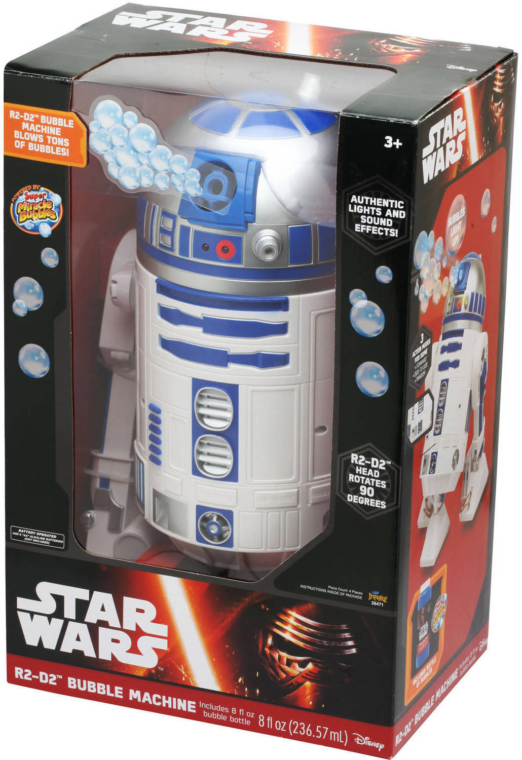 Star Wars R2-D2 Bubble Maker