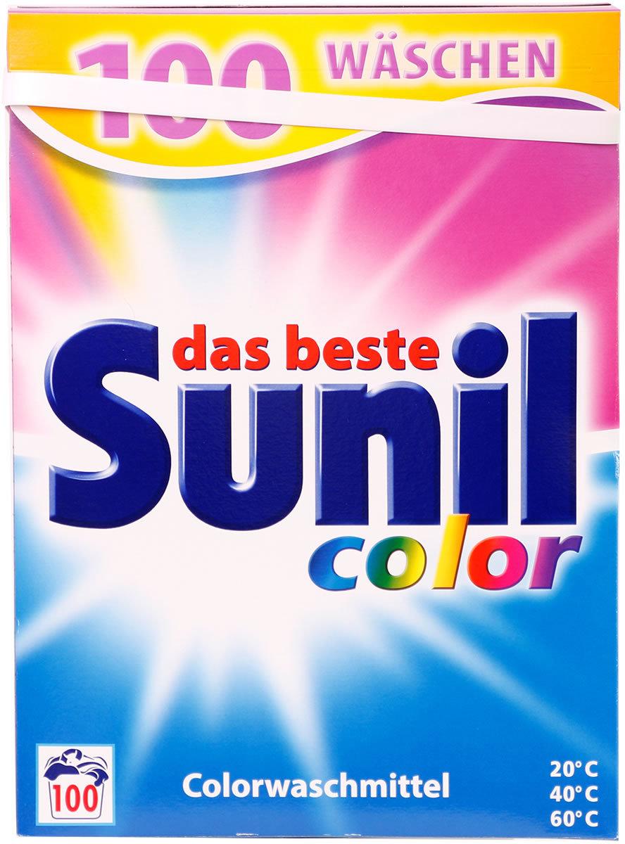 sunil waschmittel colorwaschmittel pulver f r 100 w schen online kaufen stylekiste