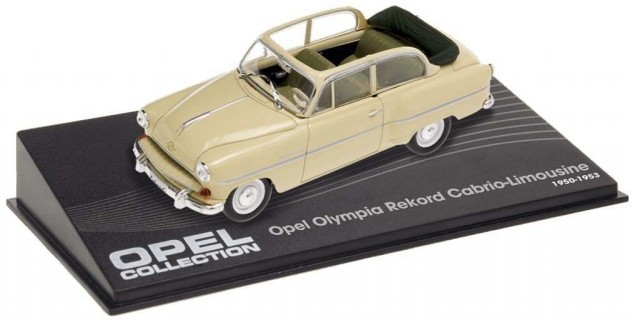Opel Olympia Rekord Cabrio Limousine Beige 1954-1956