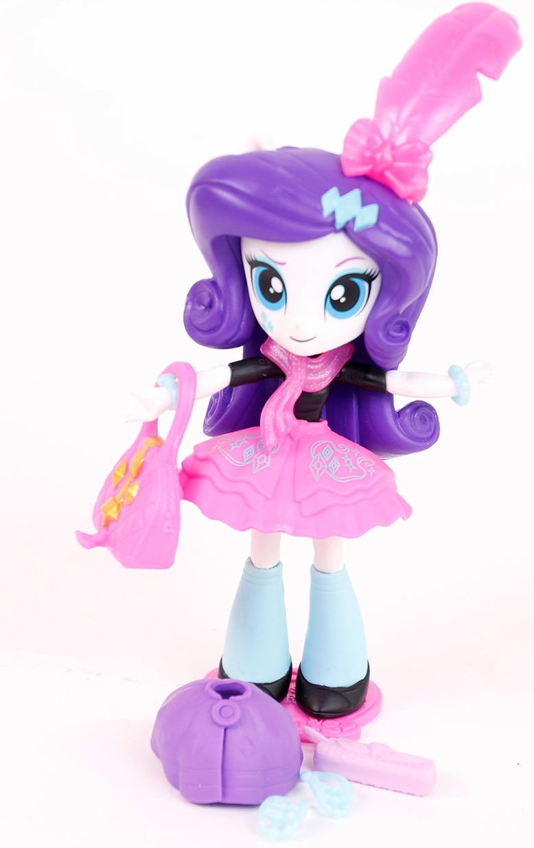 My little Pony b9473 Figur Equestria Girl Puppe Deluxe Rarity 10 cm