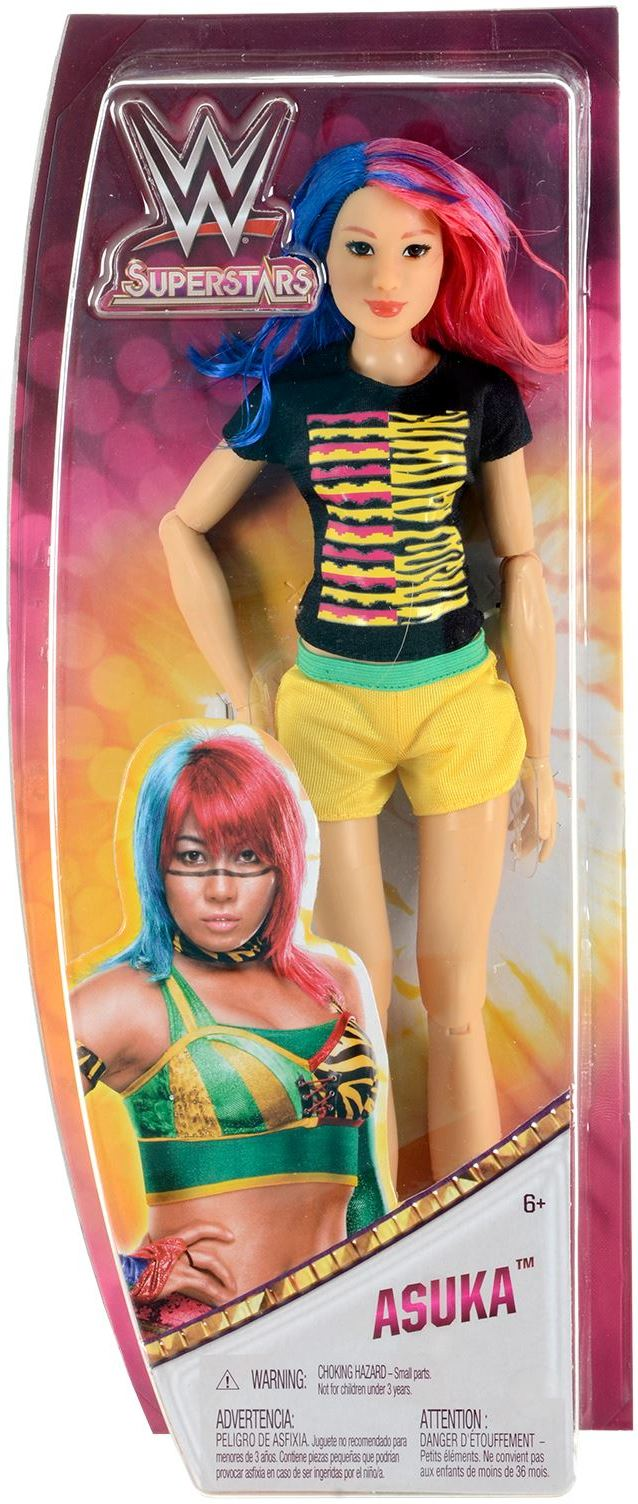 Mattel FTD83 UK - WWE - Superstar Asuka 30 cm