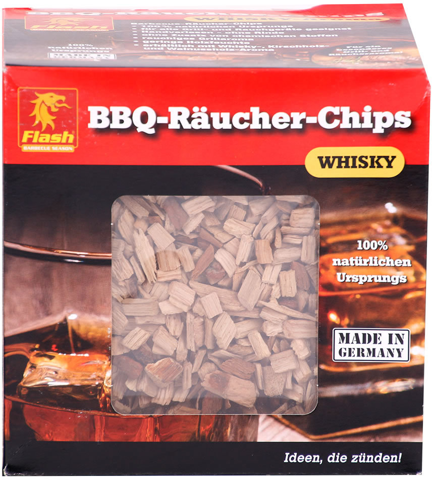 Räucher-Chips Boomes Flash Whisky 700g