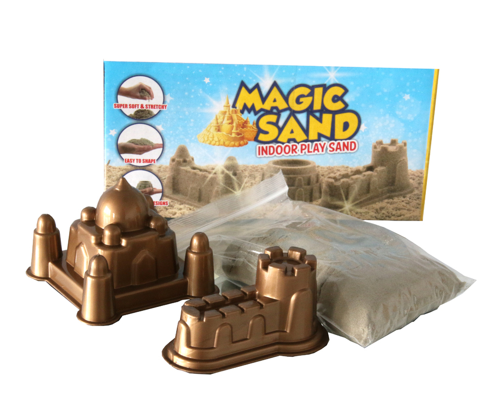 Magic Sand IndoorPlay Sand Kinetischen Sand natur 450 gr