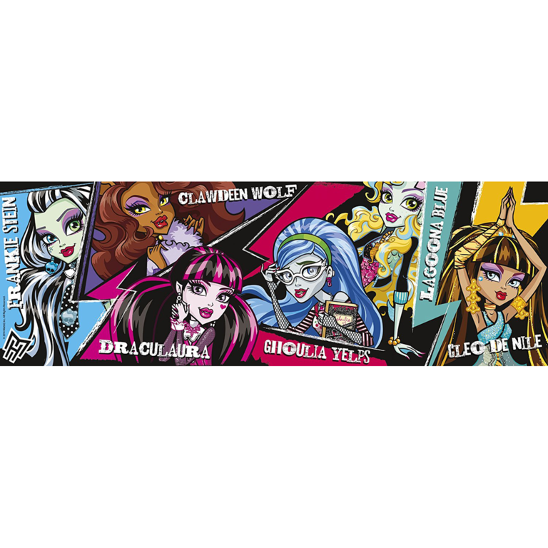 Clementoni Monster High Puzzle Panorama 1000 Teile - 39276