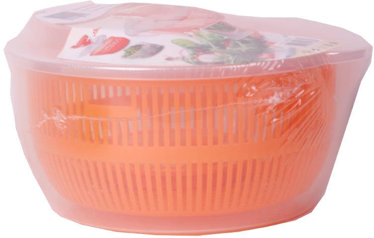 Salatschleuder mit kurbel und ausgießer salatschüssel salat trockner