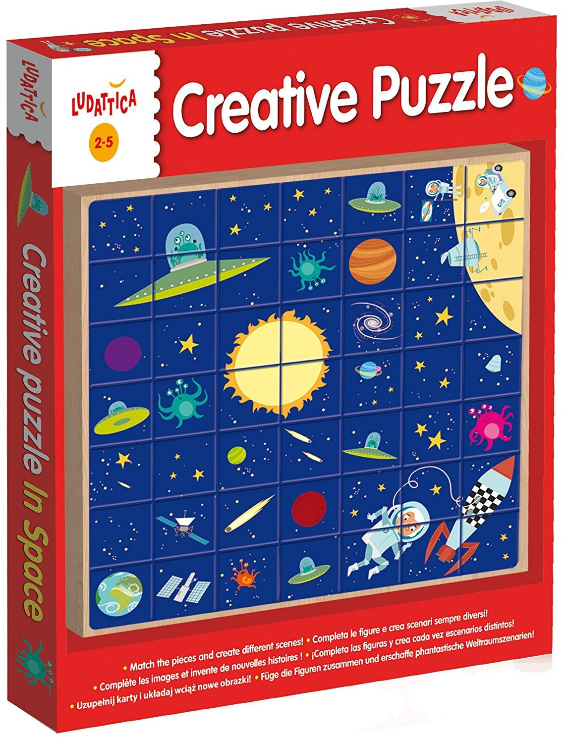 Lisciani 49981 - Creative Puzzle in Space